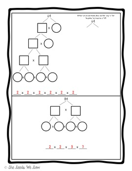 Prime Factorization Puzzles and Practice