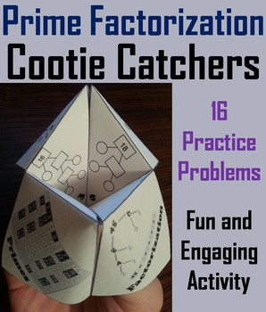 Prime Factorization Practice/ Prime Factorization Game 4th 5th 6th Grade