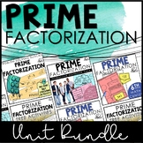 Prime Factorization Activity Bundle