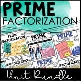 Prime Factorization Activity Bundle