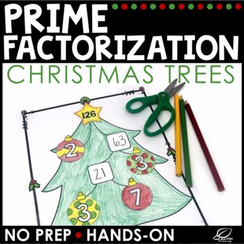 Christmas Math Prime Factorization