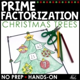 Christmas Math Prime Factorization