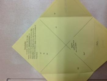 Prime Factorization, Factor Tree, Birthday Cake, Factor Monomials Foldable
