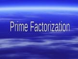 "Prime Factorization ""Factor Trees"""