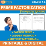 Prime Factorization Freebie