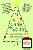 Prime Factorization Holiday Tree Craft