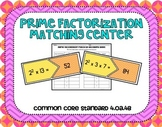 Prime Factorization Center