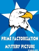 Prime Factorization Math Mystery Picture