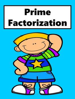 Prime Factorization No Prep Lesson