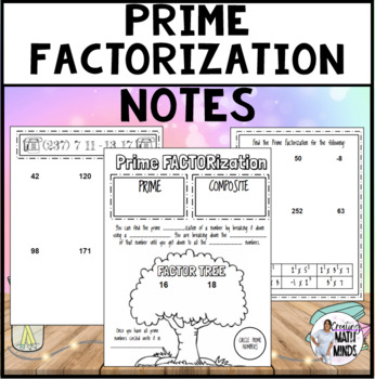 Prime Factorization Notes