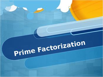 Prime Factorization Powerpoint