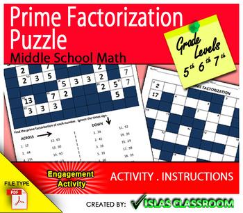 Prime Factorization Puzzle
