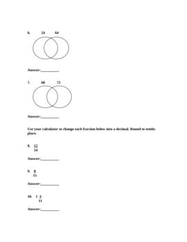 Prime Factorization Quiz