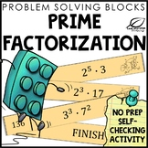 Prime Factorization Review and Practice Activity