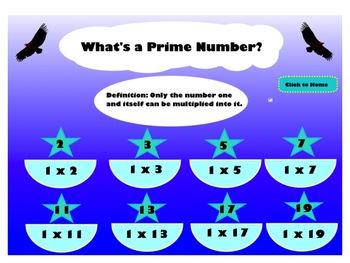 Prime Factorization SMART Lesson
