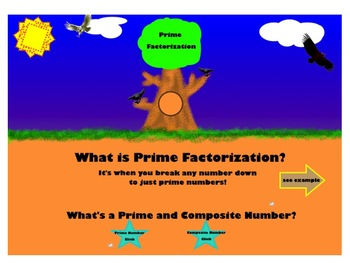 Prime Factorization SMART Lesson