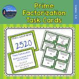 Prime Factorization Activity | Factorization Task Cards
