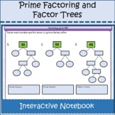 Prime Factorization Trees Activities & Interactive Noteboo