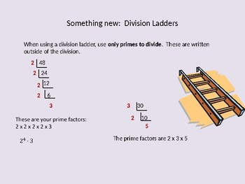 Prime Factorization of Numbers