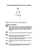 Prime Factorization with Factor Trees Lesson Plan