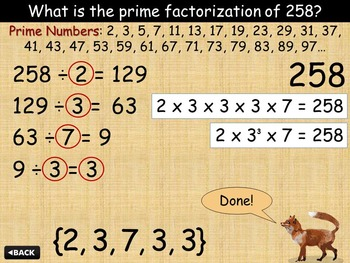 Prime Factorization with Gordo and Laya