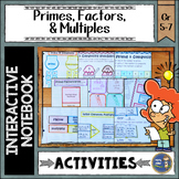 Prime Factors and Multiples Interactive Notebook