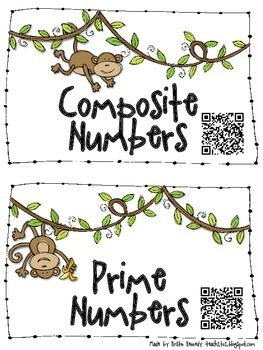 FREE Prime and Composite Numbers Sort