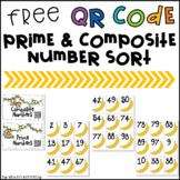 Prime Mates: QR Code Prime and Composite Number Sort {FREE}