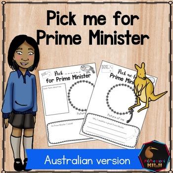 Prime Minister election activity - Australia