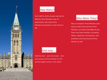 Prime Ministers of Canada (PPT)