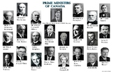 "Prime Ministers of Canada Poster:  ""Ledger/Tabloid"" (11 x 17 inches)"