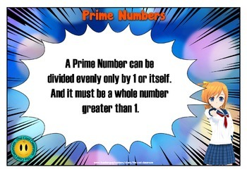 Prime Number Activity Booklet and Poster for Middle to Upper Primary