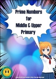 Prime Number Activity Booklet and Poster for Middle to Upp