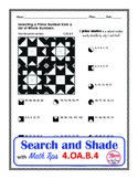 Prime Numbers Coloring Search and Shade