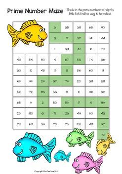 Prime Number Maze