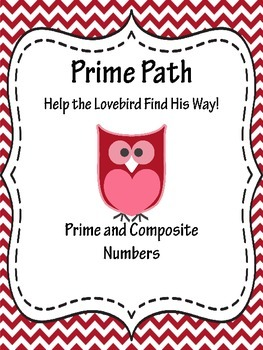 Prime Number Path: Help the Lovebird Find His Way Home!