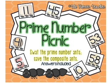 Prime Number Picnic {Swat The Prime Number Ants}