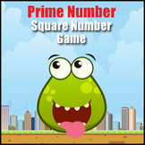 Prime Number & Square Numbers Math Game - Exploring Number Properties