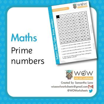 Prime Numbers 1- 100