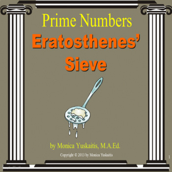 Common Core 4th & 5th - Prime Numbers