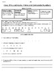 Prime Numbers Lesson and Review Worksheets