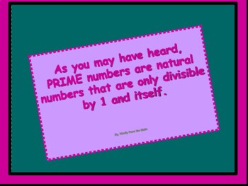 Math Lab:Prime Numbers A Foundation to all Natural Numbers