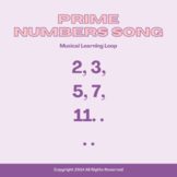 Prime Numbers Song