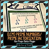 Prime Numbers - Using Prime Factorization to Find the LCM