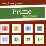Prime Numbers- mp3 with lyrics and poster
