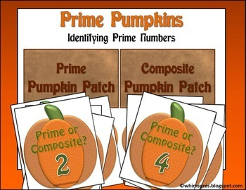 Prime Pumpkins Autumn Math Center