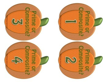 Prime Pumpkins Autumn Math Center