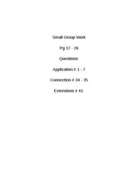6th Grade CMP3 Lesson Plan - Prime Time 1.1 - Workshop Model