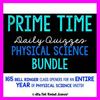 science ringers bell physical daily bundle slips exit year rocket