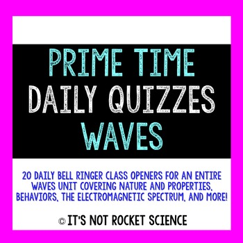 daily bell science waves ringers slips physical exit